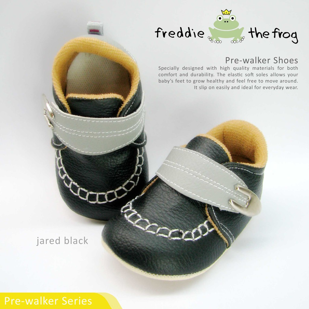 Sepatu Bayi Baby Shoes Prewalker Freddie The Frog Nicole Tony Sparkly Grey 3 6 Bulan Silver Shopee Indonesia