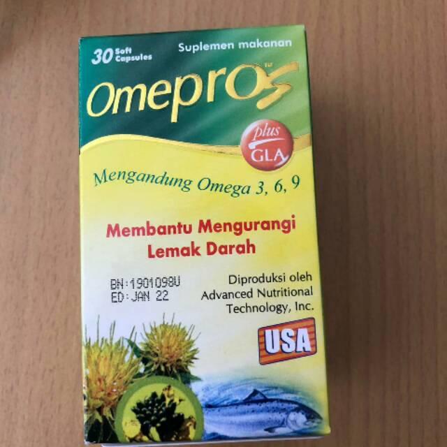 Omepros isi 30 / omega 3 omega 6 omega 9