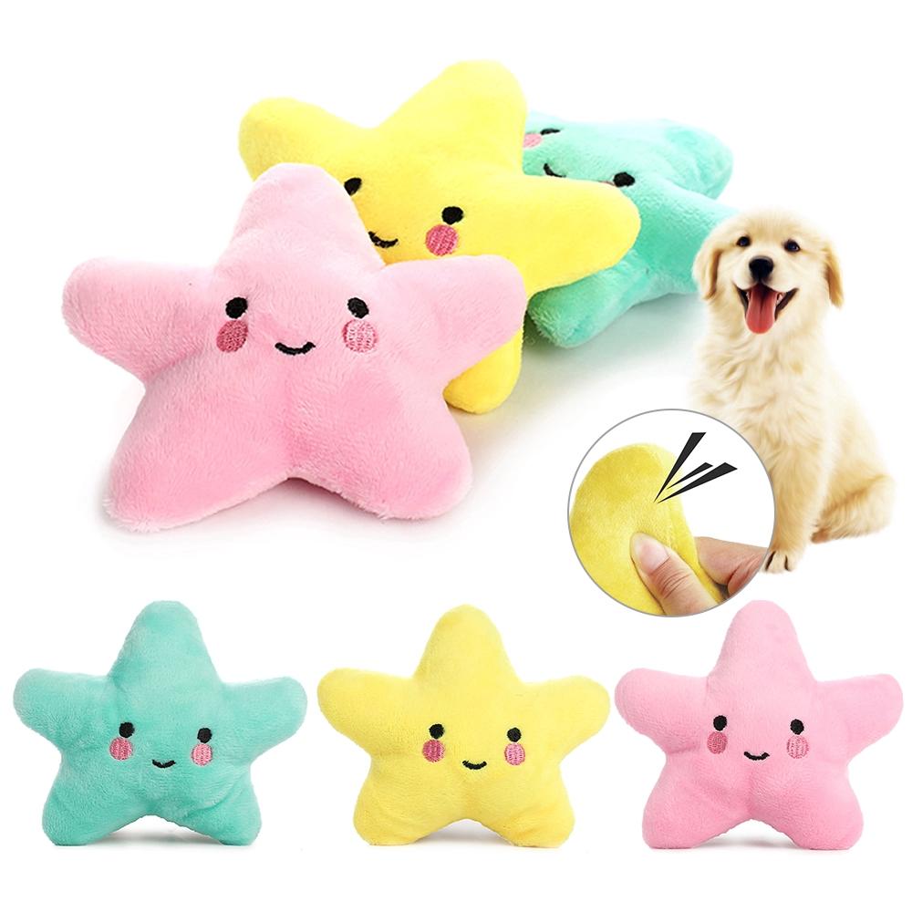 Mainan Molar Anak Anjing Bintang Laut Yang MewahXuanydwa