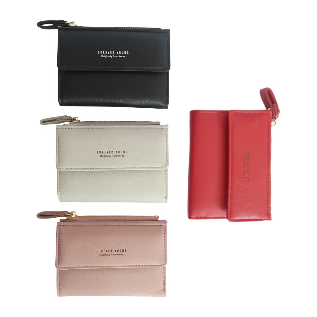 DOMPET TUMPUK FOREVER YOUNG NEW EDITION RUMBAI KODE   8M531    WALLET IMPORT  KOREA   FREE STRAP  4992204c93