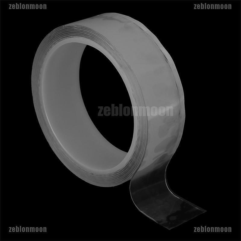 Magic Double-sided Tape Traceless Washable Adhesive Tape Nano Invisible Gel USA