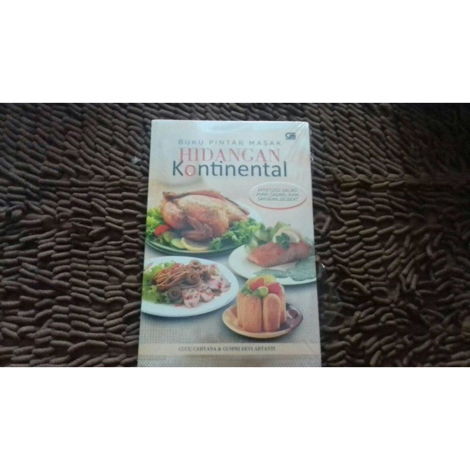 Buku Pintar Masak Hidangan Kontinental Shopee Indonesia