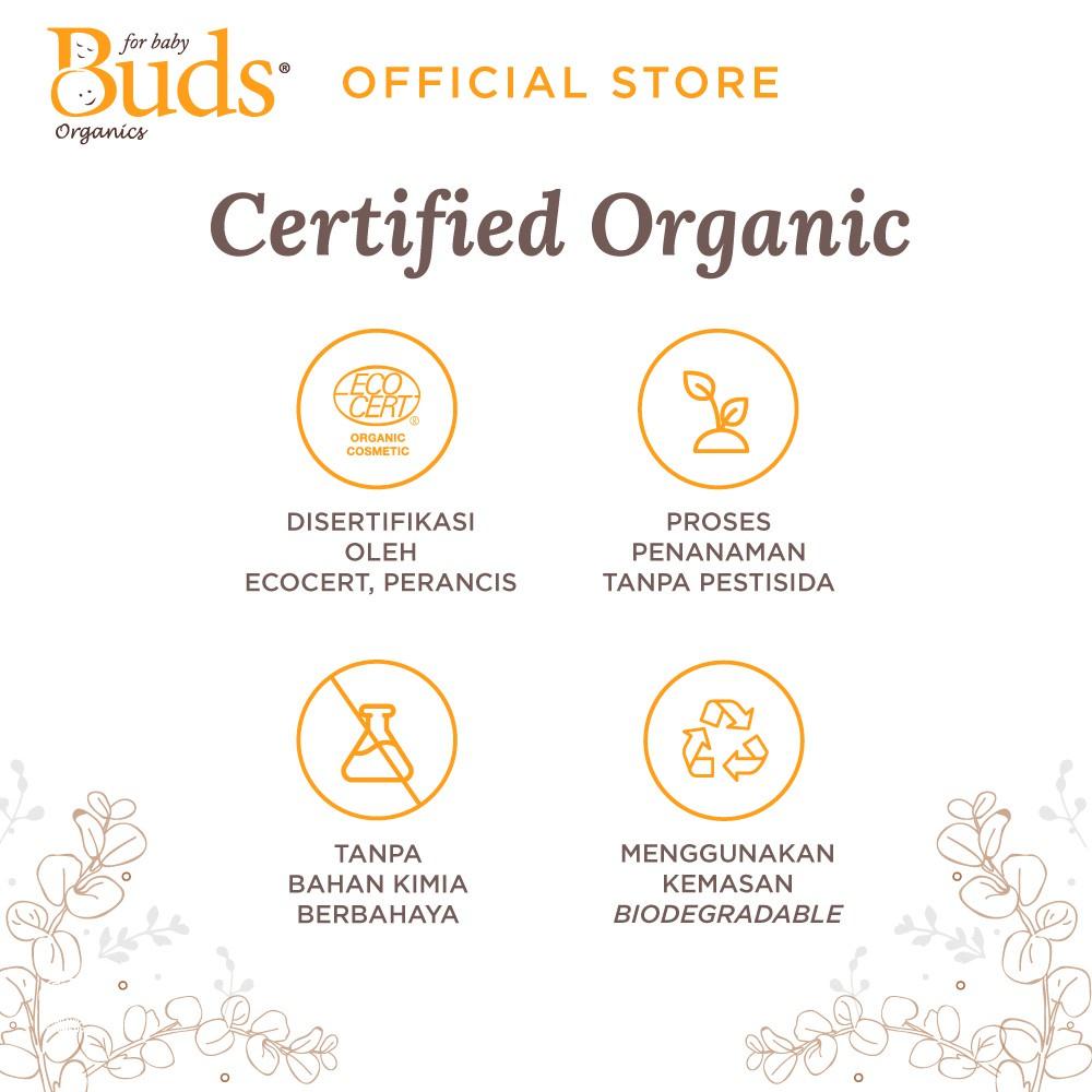 Buds Organics BFK - Orange Shampoo 350ml - Shampoo Anak Organik-3