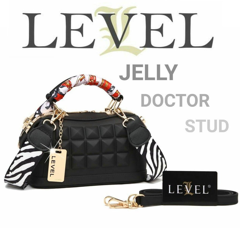 TAS LEVEL JELLY DOCTOR STUD DIAMOND 2 STRAP - TAS SELEMPANG - TAS BATAM  KOREA - f31c304ff9