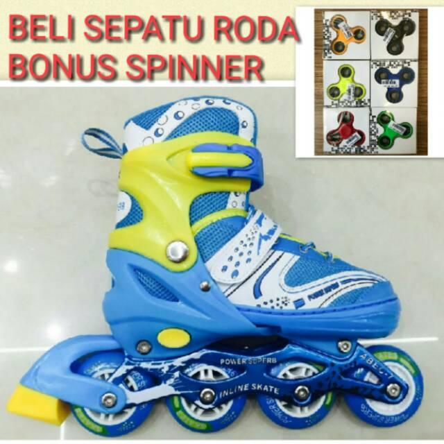 Power One Sepatu Roda Inline Skate Uk M Sepaturoda Inlineskate Roda ... dc7da98eef