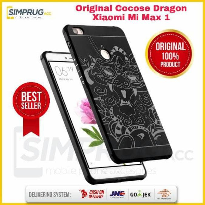Cocose Drop Resistance Armor Carved Dragon Silikon Back Case For Oppo R7s - Black + Gratis. Source · Sale Case!!! Cocose Dragon Original Xiaomi Mi Max ...