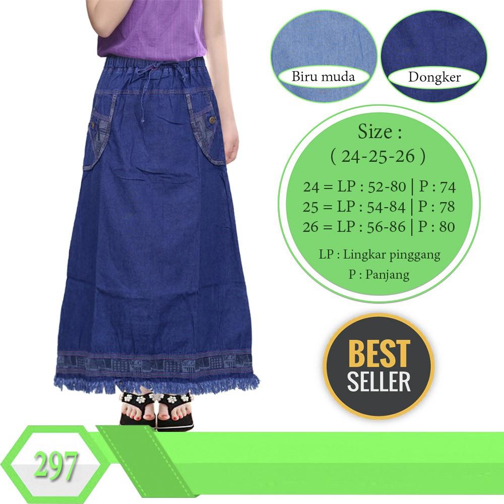Rok Panjang Muslim Jeans Oldnavy Oshkosh Murah Untuk Anak Cewe Size Jogger Ripped 141618 2 4 6 Shopee Indonesia