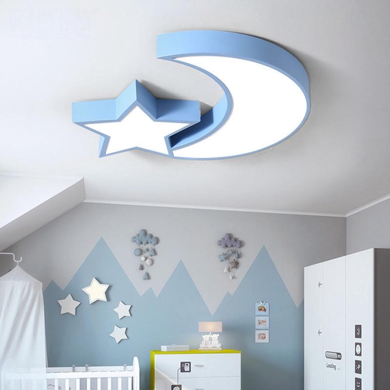 Led Moon Star Atap Cahaya Kids Bedroom Ceiling Light Anak Room Ceiling Lamp Bayi Room Ceiling Cahaya Shopee Indonesia