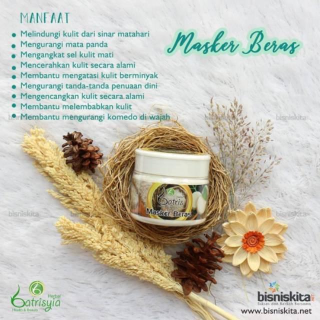Masker Beras Batrisyia Shopee Indonesia