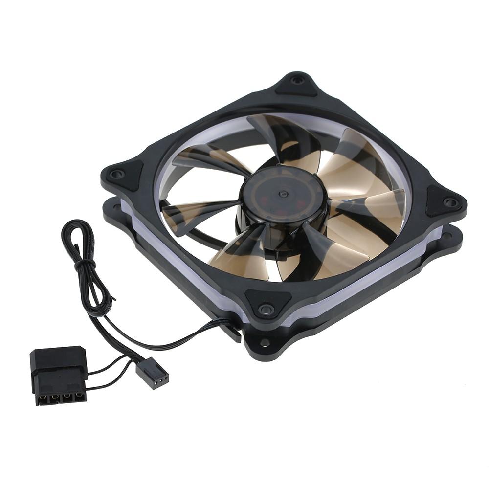 Segotep 120mm Silent Computer Case Cooler Colling Fan Led Lights Casing Yf 12 12cm Blue Hydro Bearing Shopee Indonesia