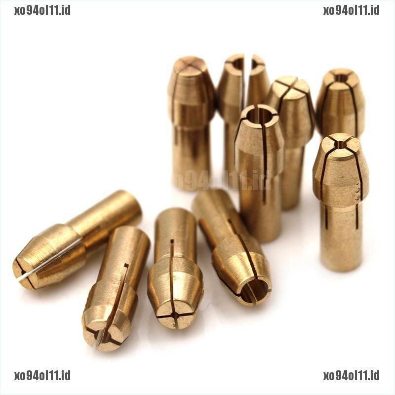 4.3mm Shank for Dremel Rotary Tools 0.5mm 0.8mm 1.0mm 1.2mm 1.5mm 1.8mm 2.0mm 2.4mm 3.0mm 3.2mm Drill Lock Nut 30 Pieces Brass Collet Chuck 4.8mm 20pcs 4.3mm+4.8mm Shank