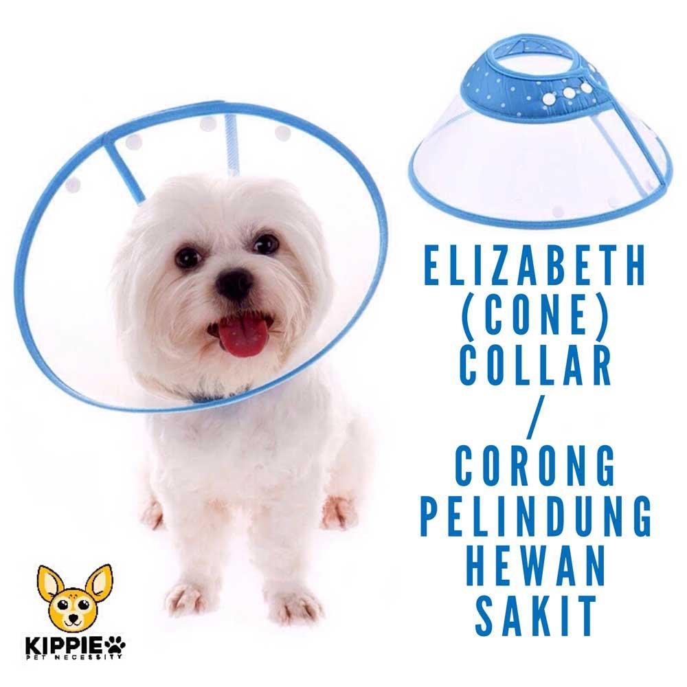 Corong Penutup - Collar Pelindung Leher Anjing Kucing Kelinci NO5 | Shopee Indonesia