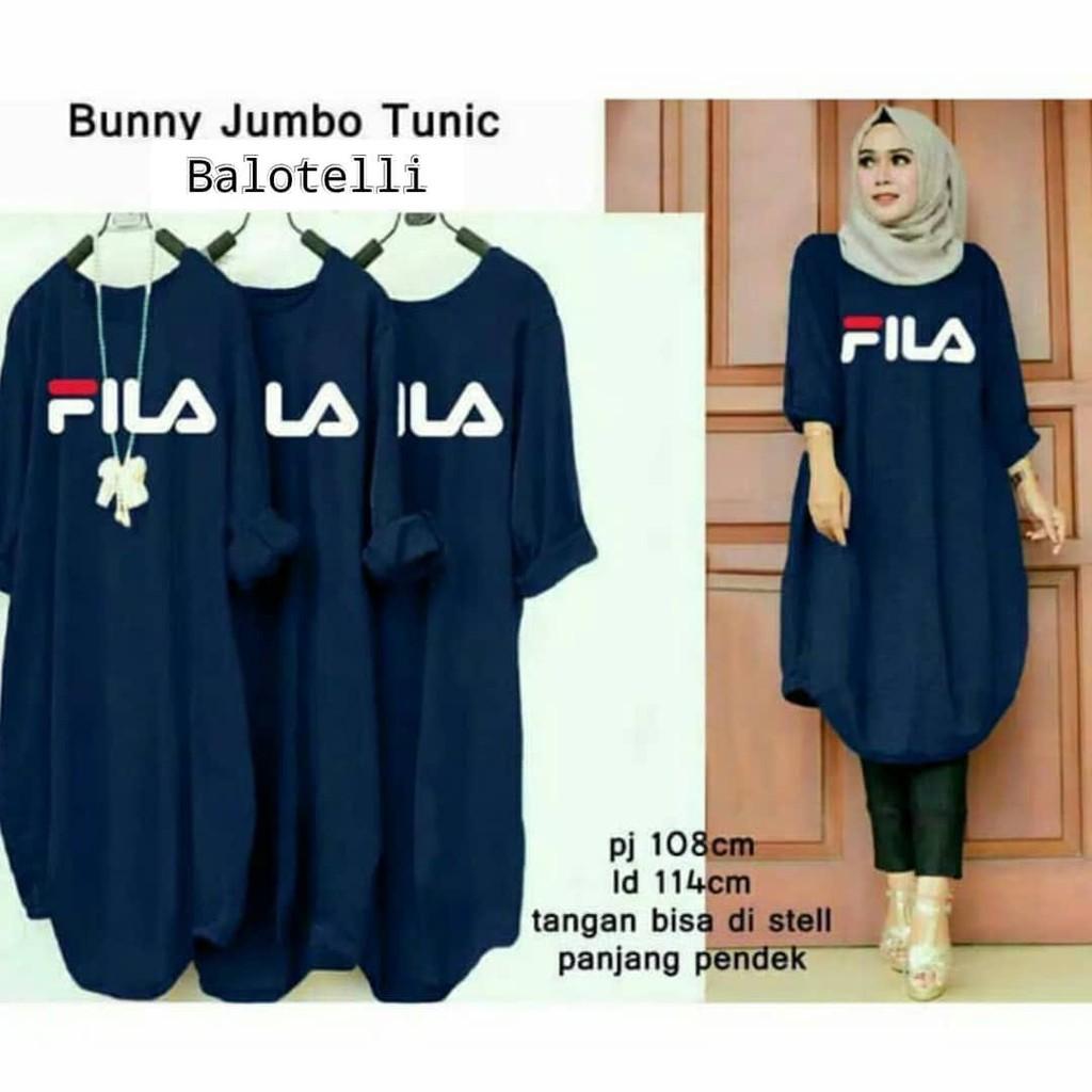 Baju Tunik Wanita   Tunik Muslim   Tunik Murah   Atasan Wanita Muslim    Bunny Jumbo Tunic  18e3644a44