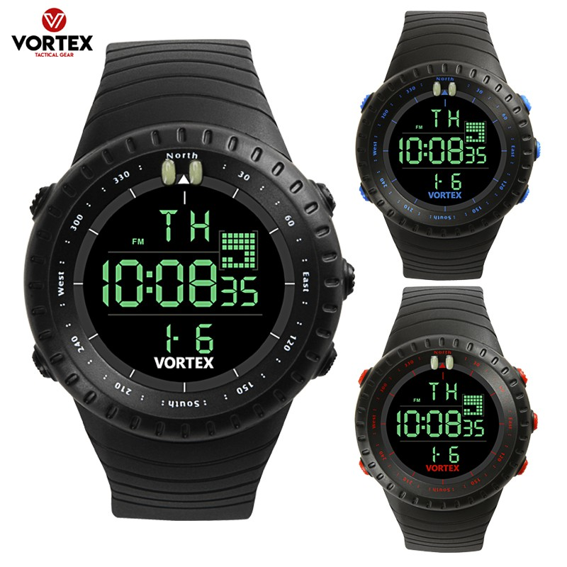 LED Digital Mens Watches Silicone Cobra Iron Segitiga Dial Sport Jam Tangan | Shopee Indonesia