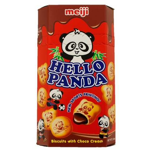 Meiji Hello Panda chocolate 45gr | Shopee Indonesia