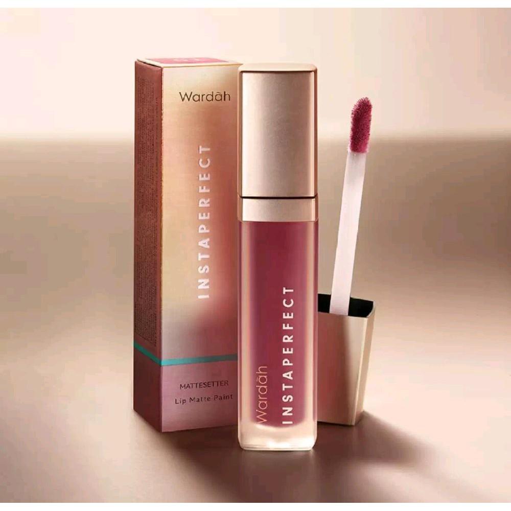 Wardah Instaperfect Mattesetter Lip Matte Paint Shopee Indonesia