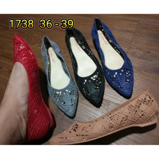 SALE FLAT SHOES GRATICA AW42 HITAM BEST QUALITY WANITA IMPORT TALI Sepatu balet balerina ON010 hitam | Shopee Indonesia