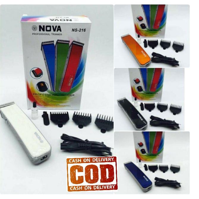 Alat Cukur Multifungsi kumis jenggot dan rambut ONYX OX 216 NOVA NS 216  4e676fb23e
