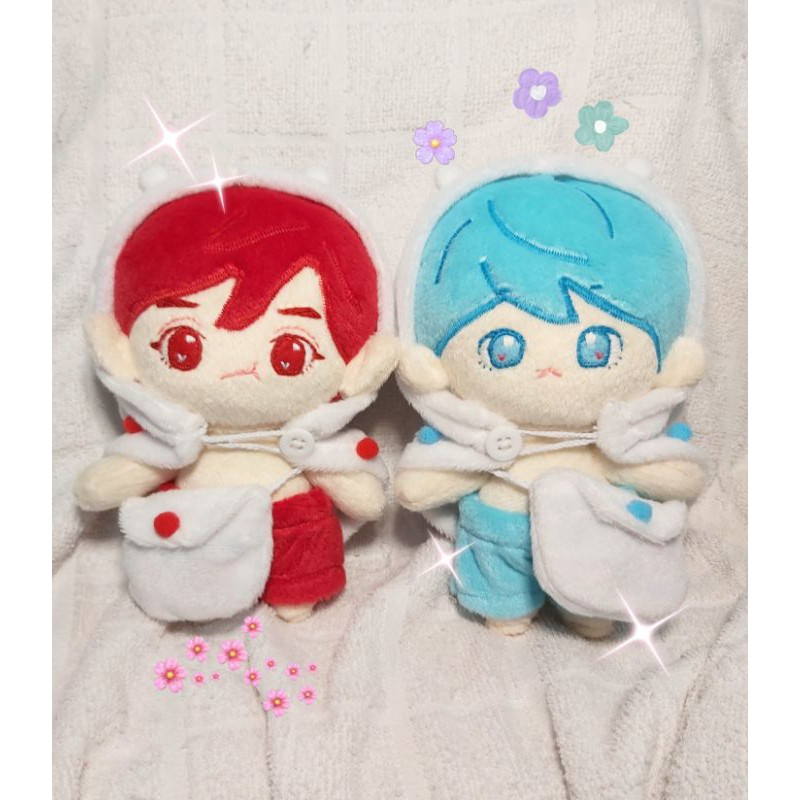 CHANBAEK DOLL (Red Yeol & Blue Baek) Handmade custom kpop doll