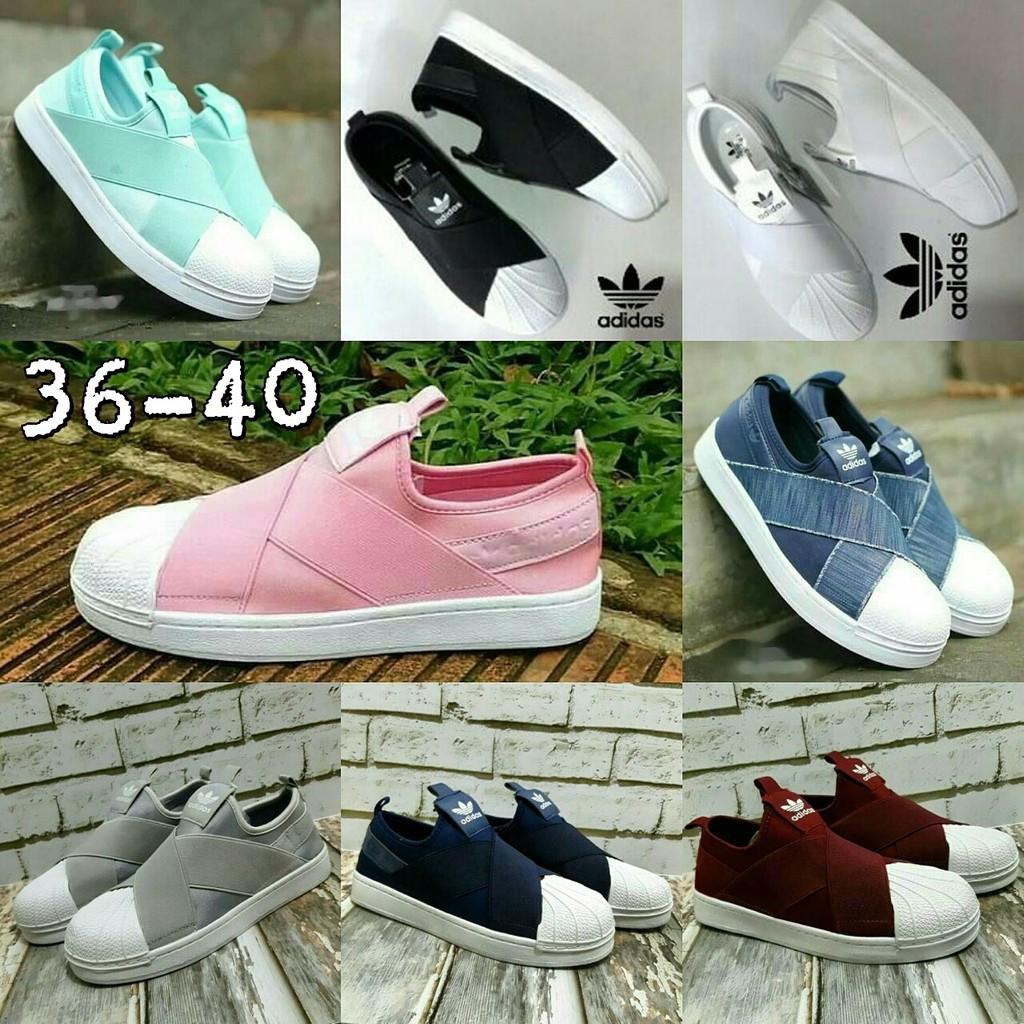 dfc6fdf49 Faster Sepatu Slip On Wanita 1603-06 Size 36-40