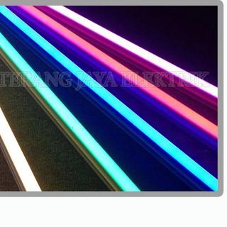 lampu tl led t5 16 watt panjang 120cm mitsuwa shopee indonesia shopee