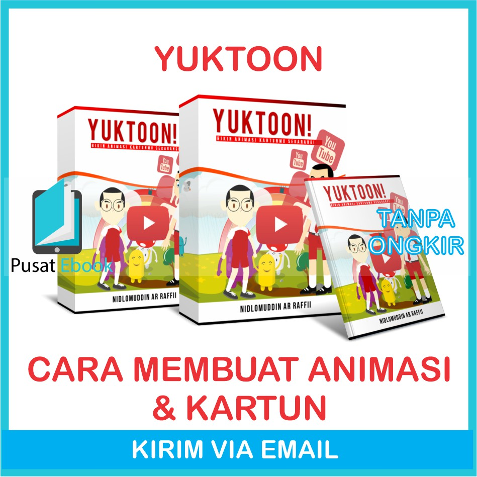 Yuk Toon Cara Membuat Animasi Kartun Youtube Shopee Indonesia