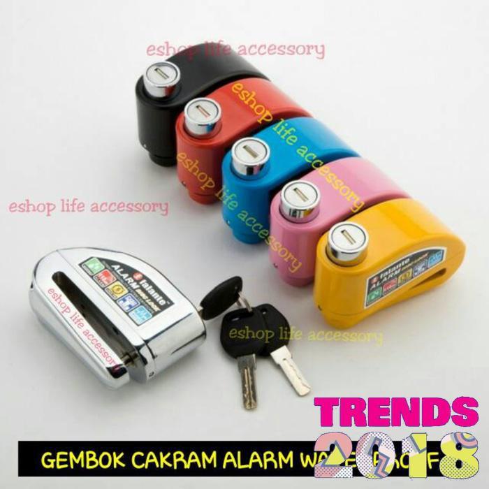 Toko Kado Unik 2 In 1 Gembok Alarm Motor Rumah Free Baterai Daftar Source · Motor