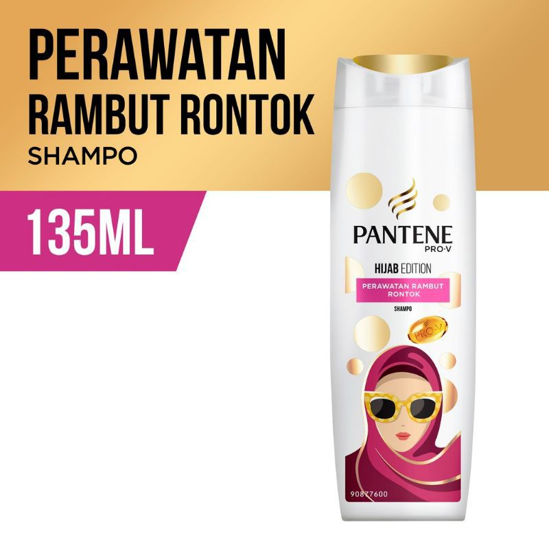 Shampoo Pantene Pro-V 130ml-Hijab Edition