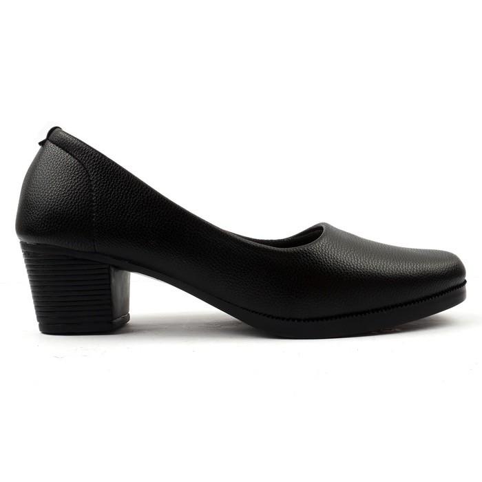BnG Corner - Sepatu Pantofel Hak Tinggi High Heels Wanita ML01 - Kuning / Hitam / Cream / Merah | Shopee Indonesia