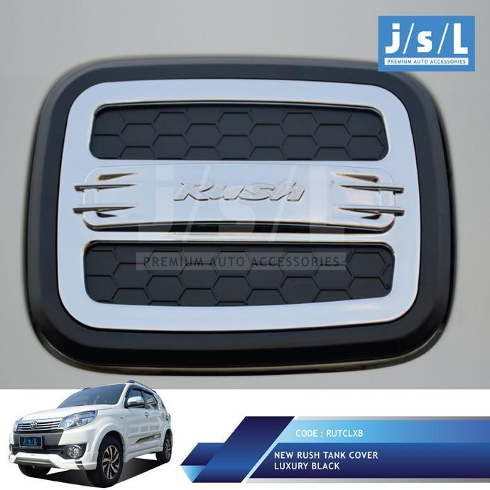 Datsun GO Cover Tutup Bensin JSL/Tank Cover Luxury Black Terlaris | Shopee Indonesia