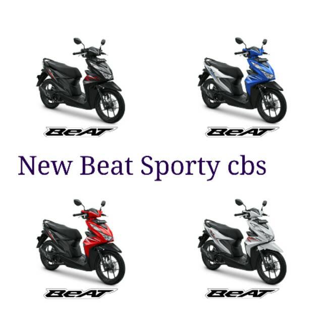 Honda New Beat Sporty Cbs 2020 Shopee Indonesia