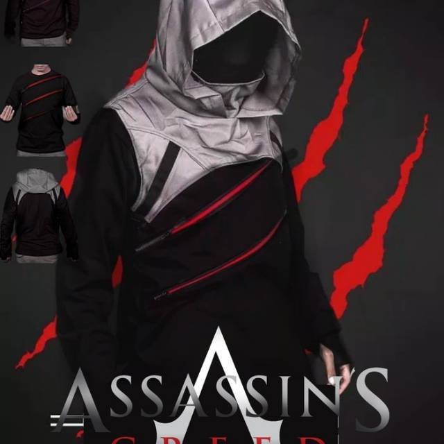 Jaket Assassins Creed Assasins Pirates Rog Arno Coat Ghost Recon Shopee Indonesia