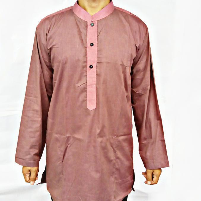 Desain 2018.. baju koko pakistan gamis baju muslim pria baju taqwa baju  sholat ad Berkualitas  269e04d475