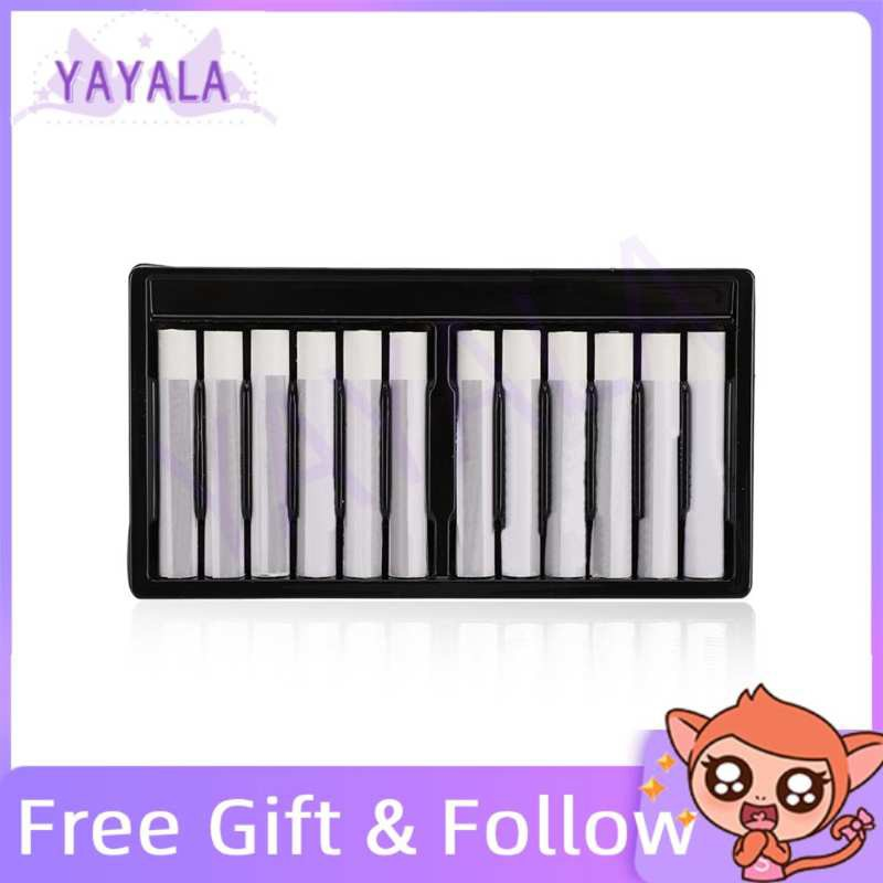 12pcs Oil Pastels Sticks White Drawing Pen Children Painting Stationery for Indoor Activities School Supplies