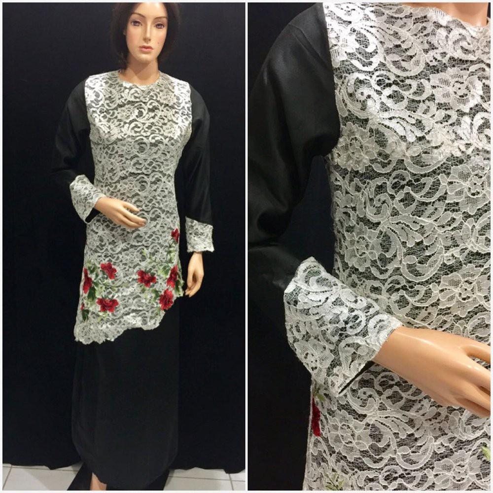 Baju Muslimah Glamour Gb561 Diskon Shopee Indonesia Gamis Nanami Muslim Lebaran Bahan Nyaman