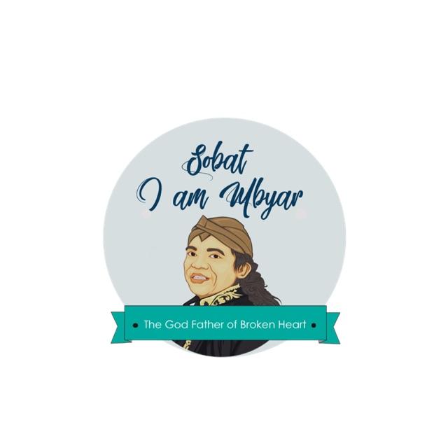 Stiker Sobat Ambyar Shopee Indonesia