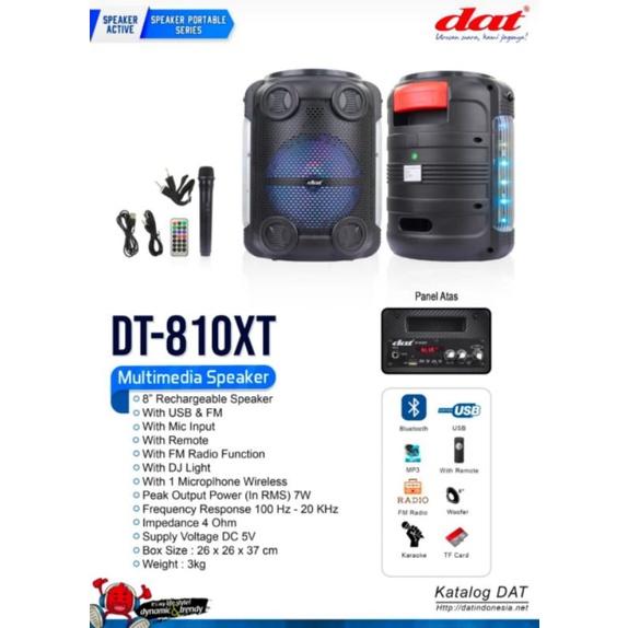 SPEAKER PORTABLE DAT DT 810XT 18 INCH DT810XT