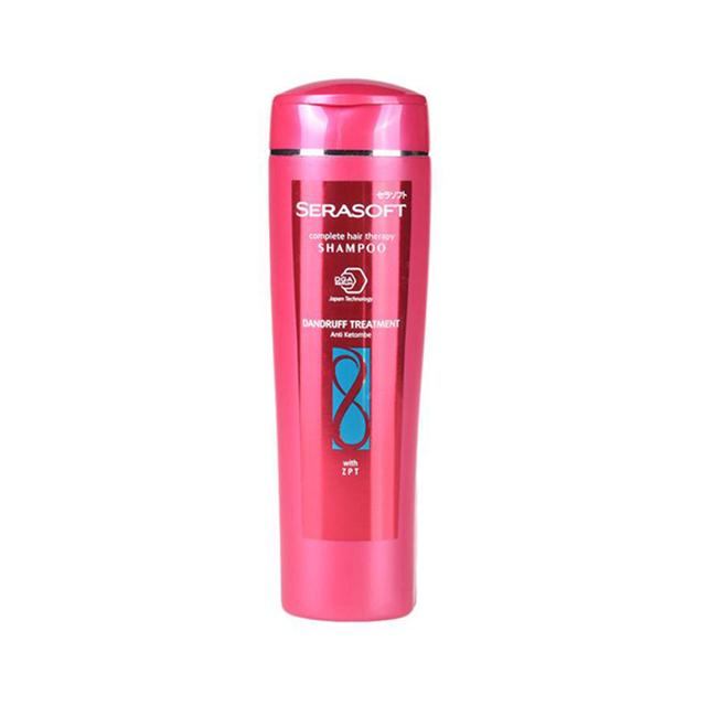 SERASOFT Shampoo Dandruff Treatment Botol 340ML-3