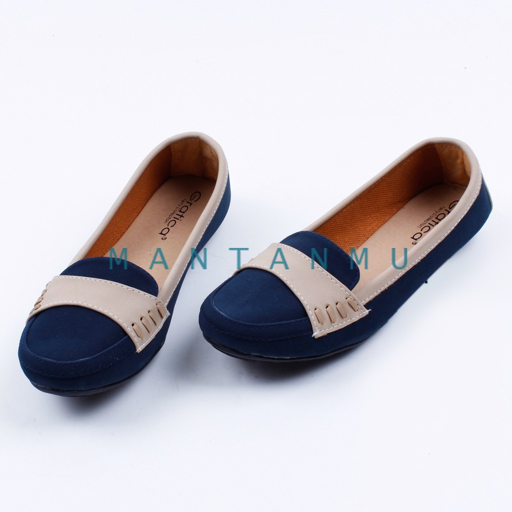 INDOSHOPZ LUBELY NF03 Flat shoes nf03 sepatu flat murah wanita ... 391acb1b2c