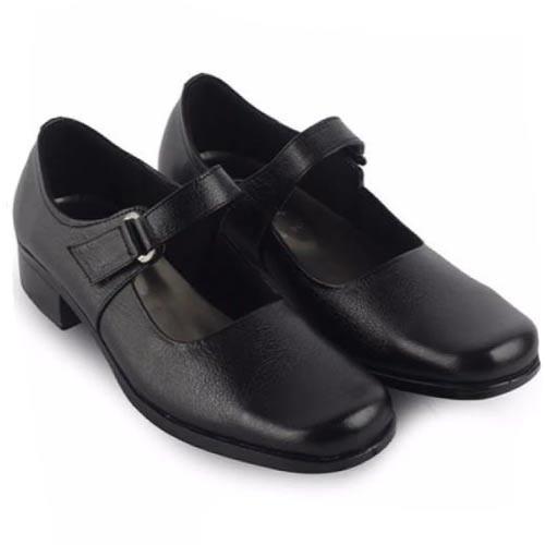 Sepatu Pantofel Wanita Hitam Sol TP 2 Cm Cewek Sekolah Kantor Paskibra Paskibraka Paskib A02   Shopee Indonesia
