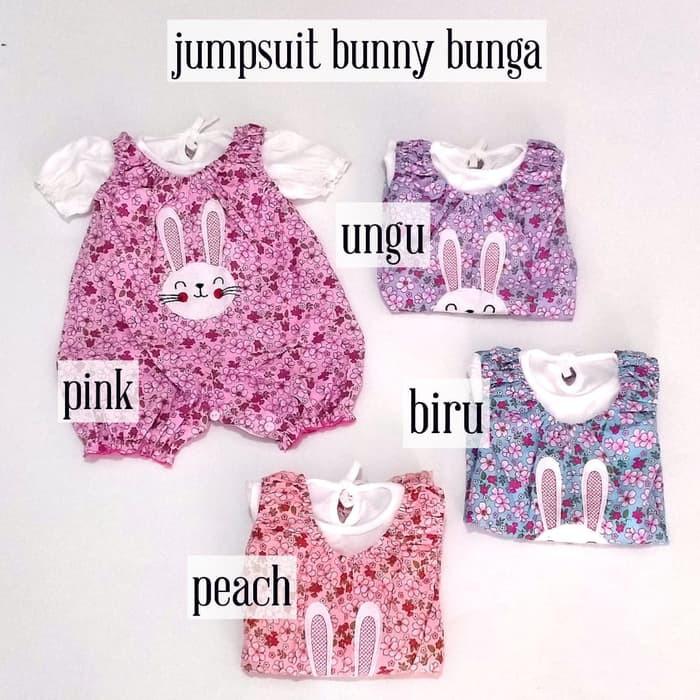 Baju Bayi Jumpsuit Perempuan Lengan Panjang Lengan Pendek ...