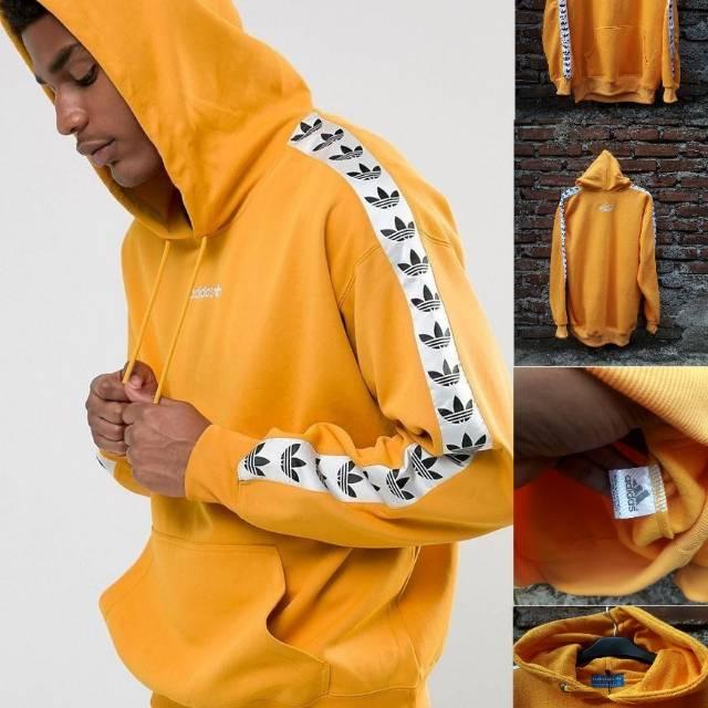 Adidas Fleece Jaket Tnt Tebal Switer Jual Kuning Size Fit Xl