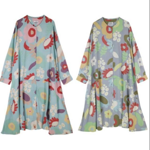 Nadjani printed hova dress