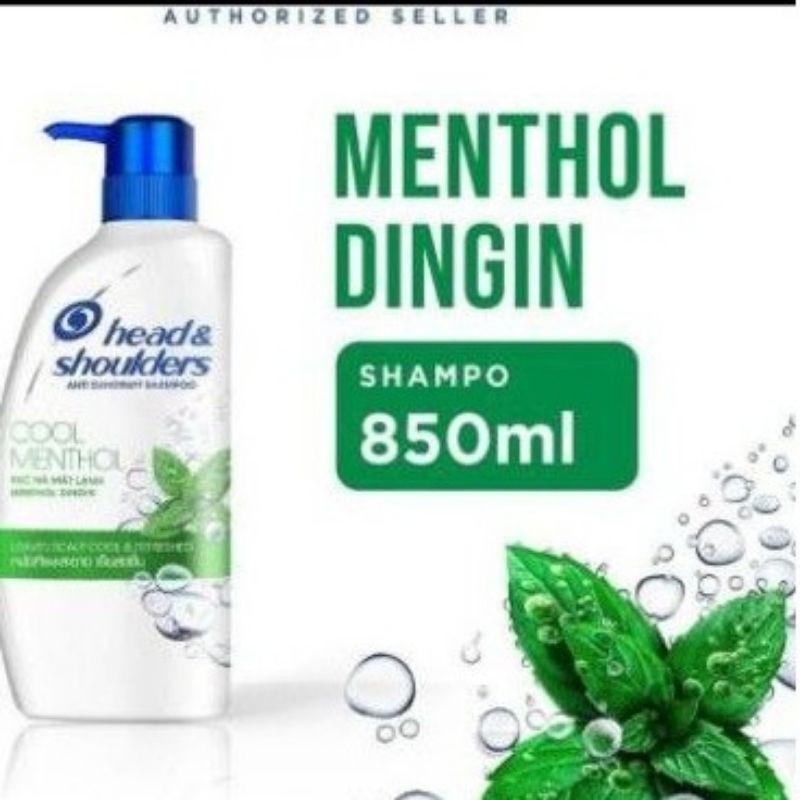 Head & Shoulders Menthol Shampo / Shampoo 850ml / 850 ml