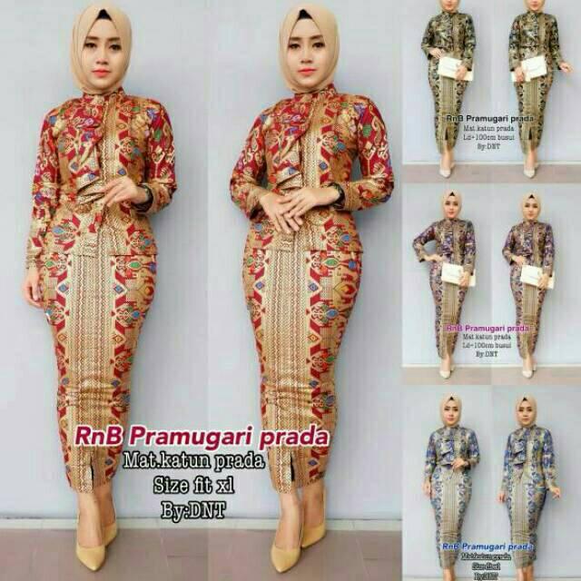 Rnb pramugari set rok dan blus pramugari set Setelan batik kebaya wanita  pramugari set  7833fdaf89