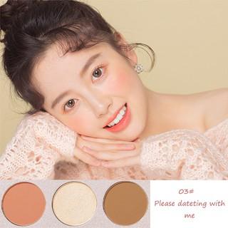 Pretty Comy Makeup Blush On Palet 3 warna Blush Highlight Makeup 6