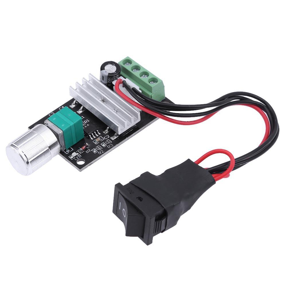 28V 3A PWM Motor Speed Varible Regulator Controller Switch 1 PCS DC 6V