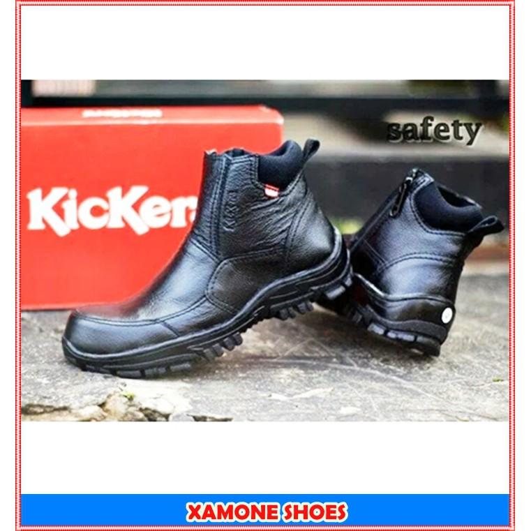 Sepatu Boots Pria High Cowboy   Biker Khaki Gurun Vantage  9c68fc19b0