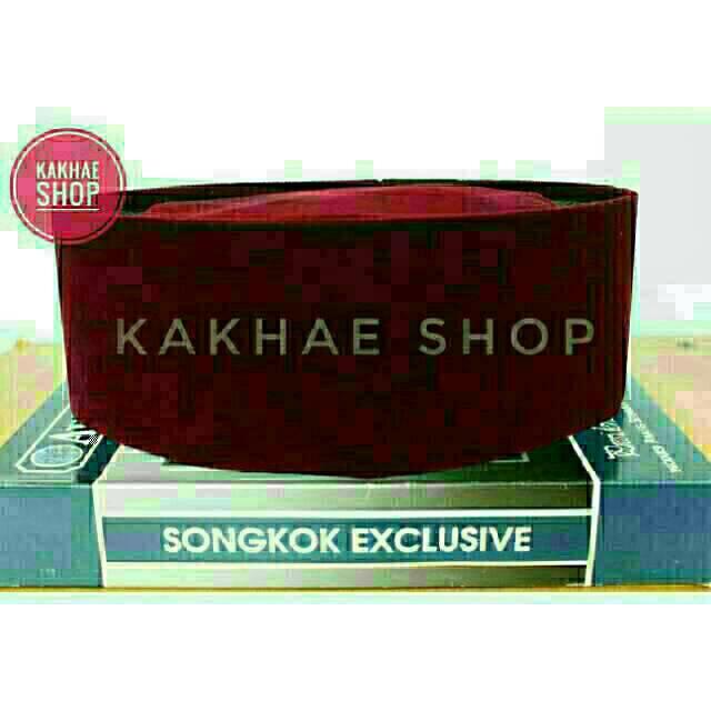 Songkok Premium / Peci Songkok Warna Merah / Peci Betawi | Shopee Indonesia