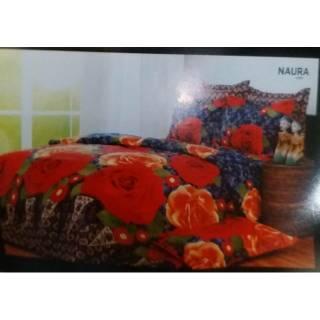 Sprei Carmina 180x200 bantal 4 sprei batik berkualitas😁